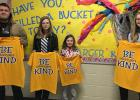 Charger Kind winners recently chosen, L-R: Evan Fish, Ally Osse, Colbie McManus and Elise Monson.