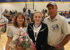 Goodridge Senior Nichole Arveson and her parents, Mike & Claudine Arveson.